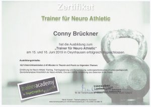 Trainerin für Neuro Athletic