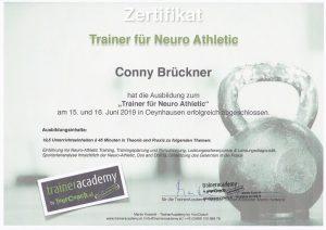 Trainerin für Neuro Athletic