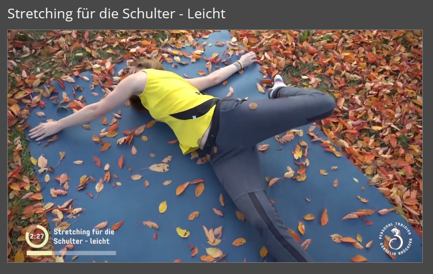 Schulterstretching