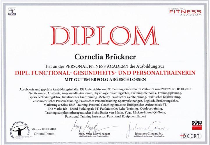 Dipl. Functional- Gesundheits- und Personaltrainerin