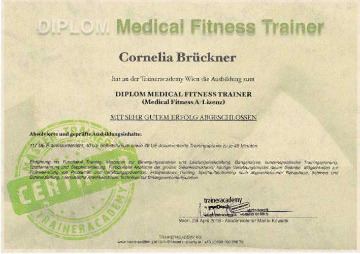 Medical Fitness A-Lizenz