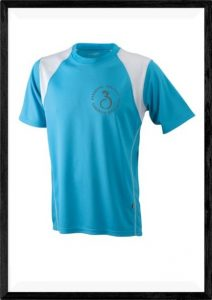 Trainingsshirt blau