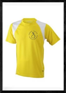 Trainingsshirt gelb